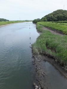 堀割橋の下流側(五十鈴川)