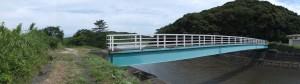 朝熊橋(歩道橋)(朝熊川)