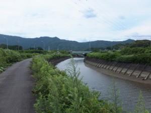 朝熊川(朝熊神社の近く)