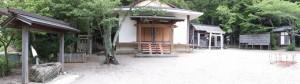 相生神社の境内(伊勢市朝熊町)