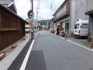 鳥羽大庄屋かどや(旧広野家住宅)から赤崎神社へ