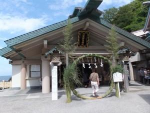 茅の輪(二見興玉神社)