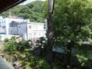 賓日館からの風景