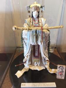 和紙人形作家 阿部夫美子さんによる「倭姫命」(賓日館)