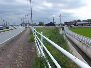 汐合大橋(五十鈴川)付近