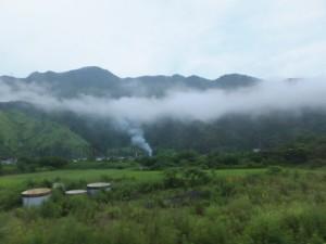 JR紀勢本線から望む風景
