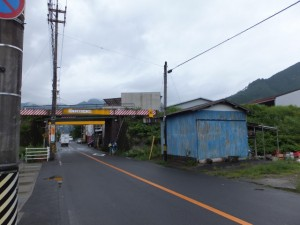 JR紀勢本線の高架(中川橋から袖片橋へ)