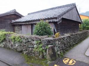 石垣(熊野古道 やのはな道)