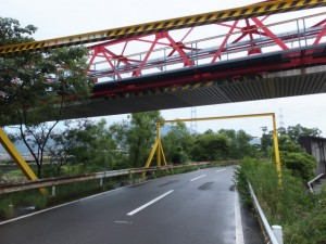 矢の川橋から尾鷲節「道標歌碑」へ