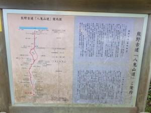 熊野古道「八鬼山道」ご案内