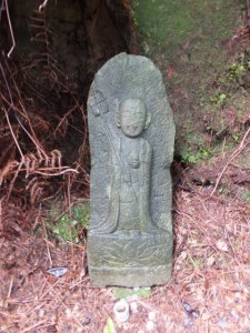 七曲がりから桜茶屋一里塚へ(八鬼山道)