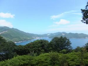 三木崎峠展望所(三木峠付近)からの眺望