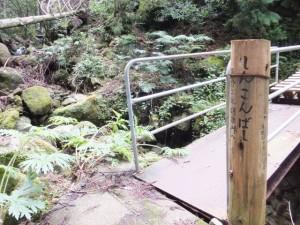 しんこんばし(熊野古道 羽後峠へ)