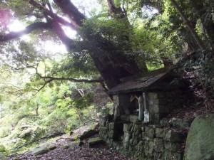 山の神(国道311号から羽後峠へ)