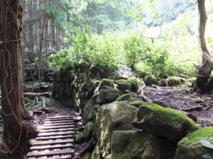 猪垣(山の神から羽後峠へ)