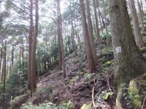 羽後峠からJR賀田駅へ