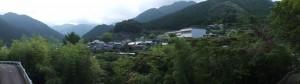 賀田羽根の五輪塔からJR賀田駅へ