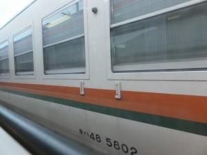 JR紀勢本線 船津駅での待ち合わせ