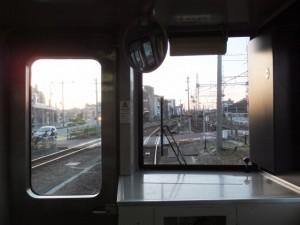 JR参宮線 桜新道踏切付近通過