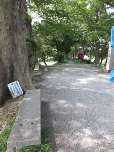 松井孫右衛門人柱堤(浅間堤)