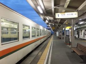 JR伊勢市駅の1番ホーム