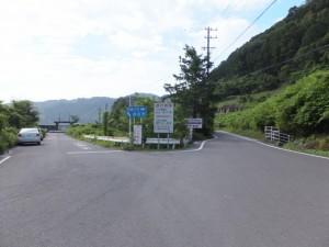 賀田港と国道311号の分岐
