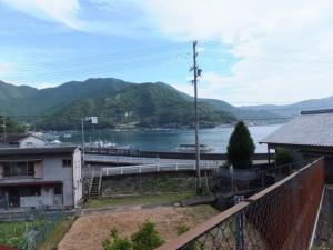 曽根次郎坂太郎坂登り口付近からの眺望