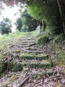 曽根次郎坂太郎坂登り口付近