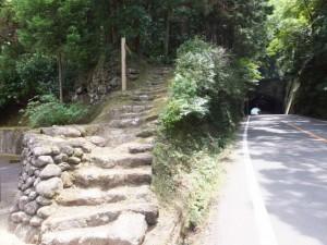 国道311号を離れて波田須神社方向へ