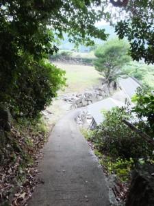 「国史跡 熊野参詣道伊勢路 大吹峠道」の標石から大泊へ