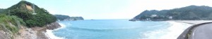 大泊海水浴場付近