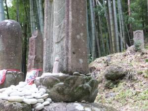 松本峠のお地蔵