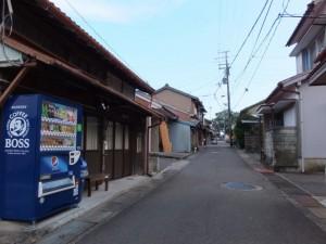 笛吹橋(西郷川)より木本神社方向へ