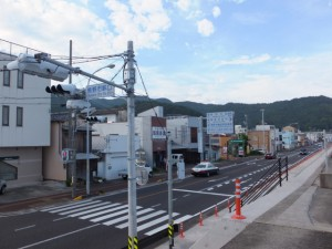 国道42号 熊野市駅口交差点