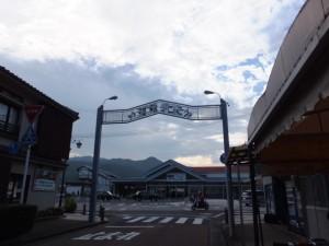 JR紀勢本線 熊野市駅前