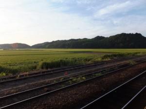 JR多気駅からの風景