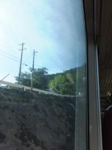 JR紀勢本線 新鹿駅から波田須方向 、トンネルへ入る直前