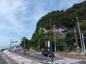 国道42号「花の窟神社北」交差点