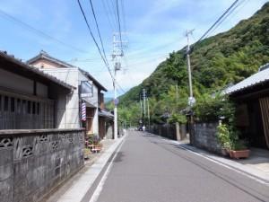 花の窟神社から立石の道標へ