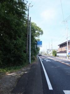国道42号 立石交差点から左、七里御浜へ