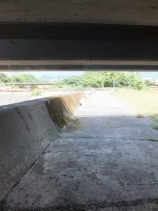 国道42号 新志原橋の下