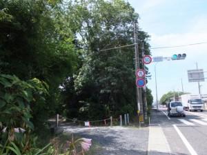 国道42号 神志山交差点