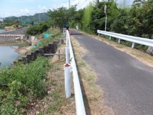 浜街道を緑橋(市木川)へ