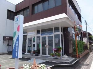 新宮信用金庫(JR紀勢本線 阿田和駅前から阿田和橋(尾呂志川)へ)