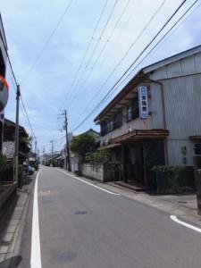 旅館 東陽館(JR紀勢本線 阿田和駅前から阿田和橋(尾呂志川)へ)