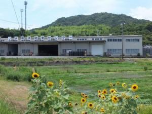 阿田和橋の先にあるJA御浜経済センター