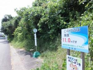 紀宝町町民バス のりば付近