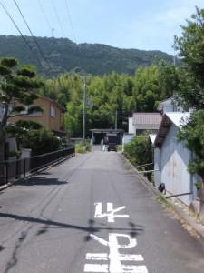 右折ポイントを通過して見かけたJR紀勢本線 紀伊井田駅