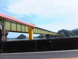 JR紀勢本線 鵜殿新宮間 熊野川橋りょう
