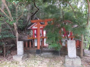 火神社、中ノ地蔵堂(神倉神社)